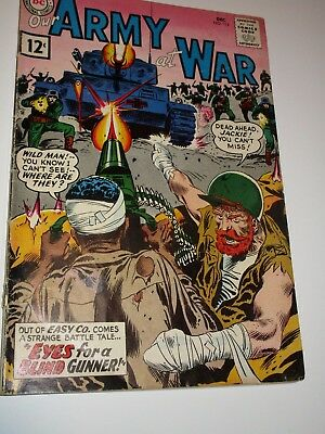 OUR ARMY AT WAR #113 Mid Grade SILVER AGE SGT. ROCK