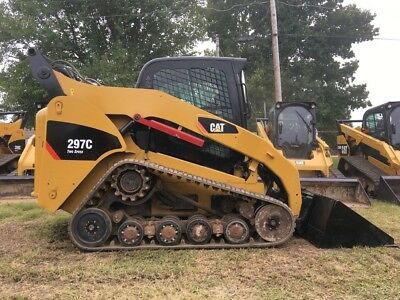 2007 Caterpillar 297C Rubber Track Skid Steer Cab AC Diesel Crawler Cat Skideer