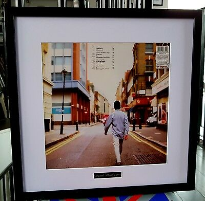 Oasis Luxury Framed Album Artwork What's The Story Morning Glory Metal Plaque