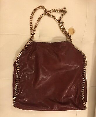 Stella McCartney Falabella Borsa Bag Pelle Leather Catene Originale Original