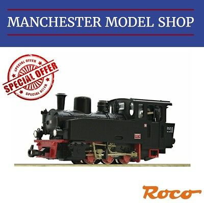 "Roco HOe 009 1:87 baureihe BR99 Narrow gauge steam locomotive 15 ""DCC SOCKET"" UB"