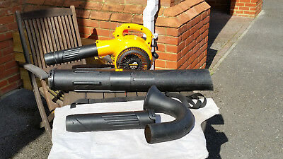 McCulloch MAC GBV 325 Petrol Leaf Blower and Vacuum with accessories
