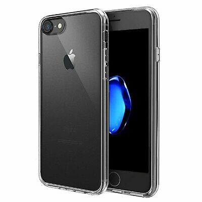 For Apple iPhone 7 8 Plus Case Clear Hybrid Shockproof Soft TPU Bumper Cover