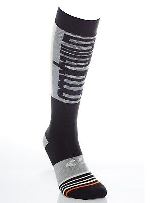 Thirty Two Black Double Snowboarding Socks