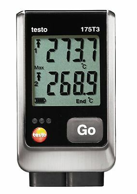 Testo 175 T3 (0572 1753) 2-Channel Temperature Data Logger w/ External Type T&K