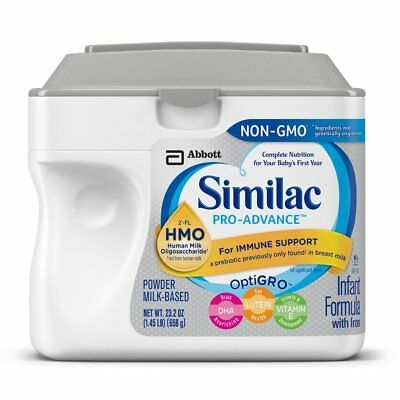 Similac Pro-Advance Infant Formula With Iron 23.2 Ounce Non-Gmo Free Shipping
