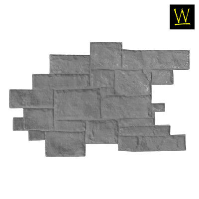 Medieval Cobble | Concrete Stamp - Floppy (Single Flex Stamp)