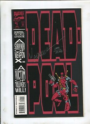 Deadpool: The Circle Chase #1 (7.5) Dynamic Forces-Signed By Joe Madureira!
