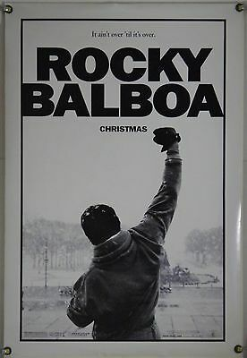 Rocky Balboa Ds Rolled Adv Orig 1Sh Movie Poster Sylvester Stallone (2006)
