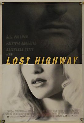 Lost Highway Rolled Orig 1Sh Movie Poster David Lynch Patricia Arquette (1997)