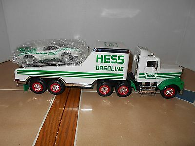 Hess 1991 Toy Truck and Racer,MIB