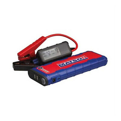 12v Jump Starter 7.5 litre Diesel LCD Display 600A plus Wireless Battery Monitor