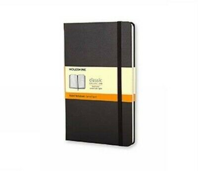 Moleskine Classic Notebook, Pocket, Ruled, Black, Hardcover (3.5 x 5.5) [New Boo