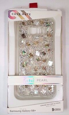 best sneakers 47b42 e6e67 NEW CASE MATE Karat Case for Galaxy S8+ (plus) - Mother Of Pearl