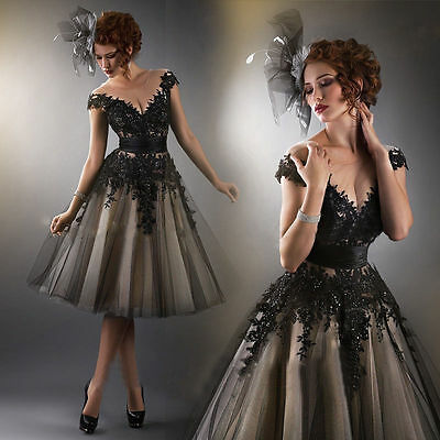 Women Fashion Evening Formal Party Cocktail Bridesmaid Prom Gown Short Dress