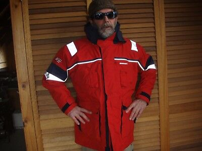 burke pb20 jacket OFFSHORE RED - SIZE M - 36