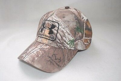 NEW Under Armour Realtree AP-Xtra Hunting Stretch Fit Curved Bill Cap MAN'S Hat