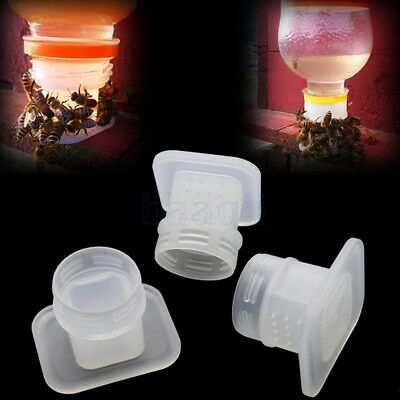 2pcs Facile à utiliser Bee Drinking Insects Drinking Fountain Water Equipment BA