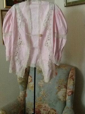 Vintage edwardian jacket delicate pink and a reasonable size