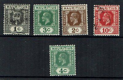 """Collection of Mauritius stamps  """"KGV 1921-1934"""""""