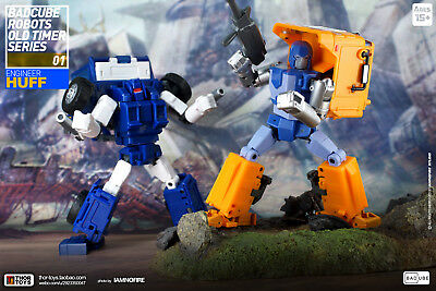 Transformers Toy Badcube BC OTS-01 Huff OTS-13 Piper Sets G1 Action Figure New