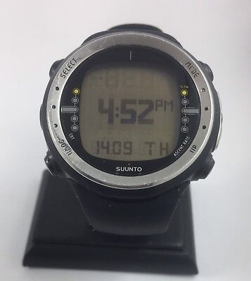 Suunto D4 Black Electronic Digital Dive Watch With Box