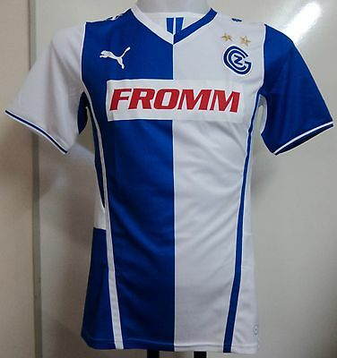 Grasshoppers Club Zurich 2013/14 Home Shirt By Puma Adults Size Small Brand New