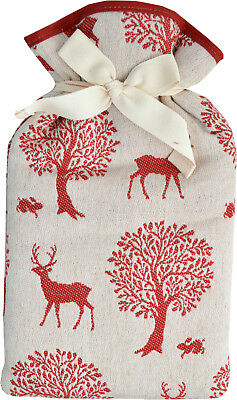 Vagabond Red Stag Padded 2.0L Hot Water Bottle