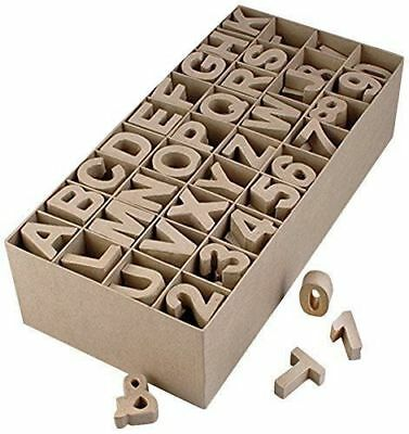 PappArt Display Set Box Letters and Numbers