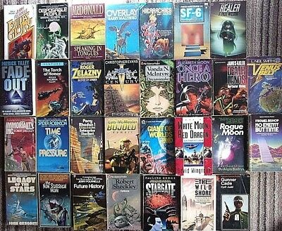 Collection of Vintage Science Fiction Novels