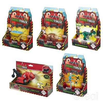New Dinotrux Figure Pack Ty Rux Revvit Drillasaur Gluphosaurs Or Wrecka Official