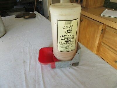 Nelson Products Porkmaster Sanitary Pig Waterer Sioux Rapids IA Lot 17-65-2-B