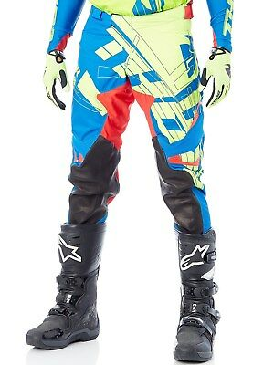 Thor Lime-Blue-Red 2018 Prime-Fit Paradigm MX Pant