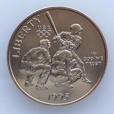 1995 S Baseball Commemorative Half-Dollar GEM-Superb