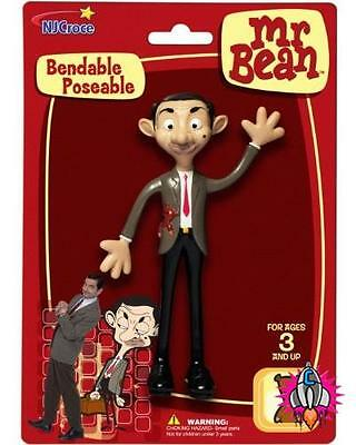 Mr Bean Bendable Poseable Rowan Atkinson Action Figure Toy