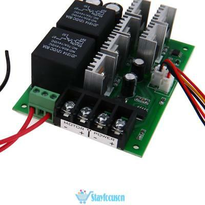DC10V~50V 2000W 40A PWM Motor Variable Speed Controller CW CCW Reversible Switch