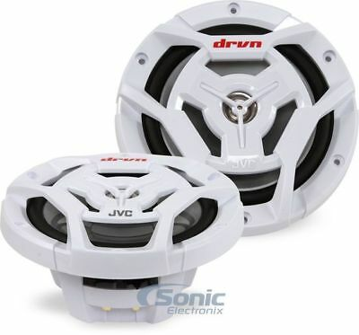 """JVC CS-DR6201MW 100W RMS 6.5"""" 2-Way Coaxial Marine Stereo Speakers"""