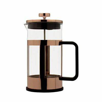 Grunwerg Cafe Ole Coffee Maker 0.35L Copper Finish Cafetiere Fresh Coffee