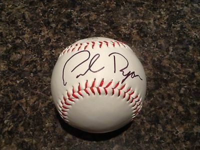 Paul Ryan AUTHENTIC HAND SIGNED baseball Speaker of the Houseau
