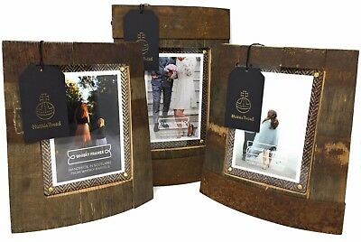 Whisky Barrel With Harris Tweed Handmade Photo Frames Bilge, Ring Chime, Chime