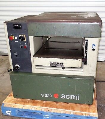 """Scmi 20"""" Planer With Tersa Head 3 Phase"""