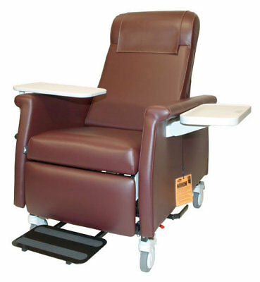 Nocturnal Elite Care Recliner with LiquiCell Burgundy TB133 and Heat
