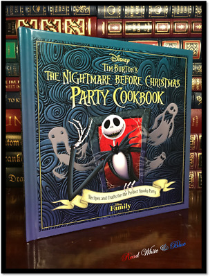 The Nightmare Before Christmas Halloween Party Cookbook New Recipes Hardcover