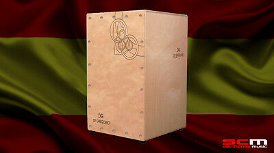 De Gregorio CAJON KIYO 2 HAND MADE IN SPAIN PRE-TUNED SNARE AMAZING SOUND!