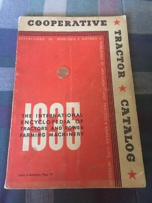 1935 Red Book Of Tractor Catalog Has Most Brands & Specs Of Tractors For 1935