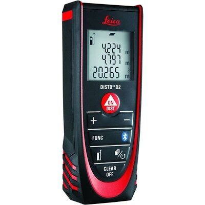 Leica D2 (838725) Laser Distance Measurer with Bluetooth