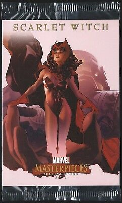 2008 Marvel Masterpieces Series 2 Jumbo Box Topper 5 CARD SET-All Factory Sealed