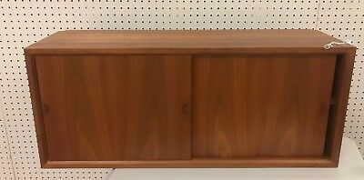 Mid Century Hanging Wall Cabinet - Poul Cadovius