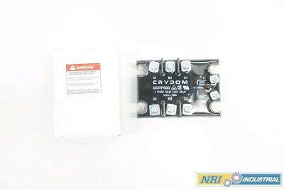 New Crydom D53Tp50D Solid State Relay 3-32V-Ac 50A Amp D577436
