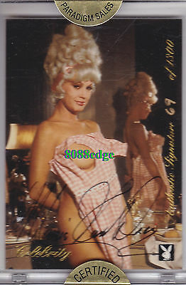 1999 Celebrity Playmate Authentic Auto: Mamie Van Doren #69/1300 Autograph Cult